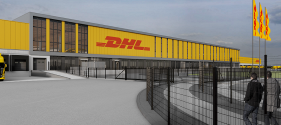 DHL e-commerce sorteercentrum Zaltbommel 3